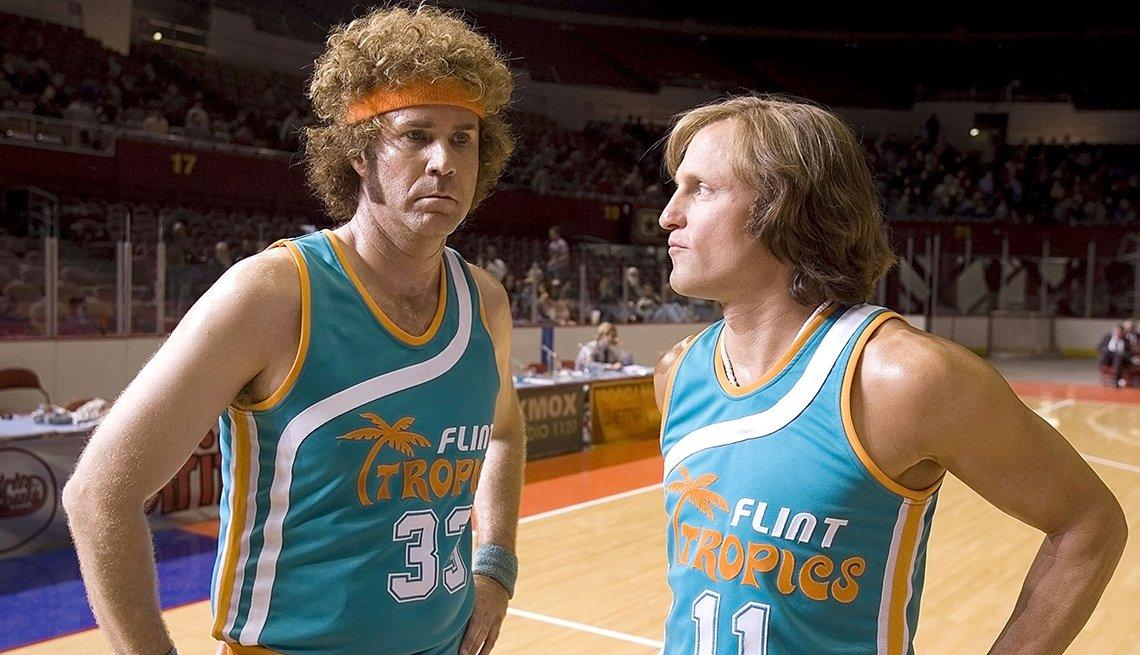 Will Ferrell y Woody Harrelson en una escena de Semi Pro.
