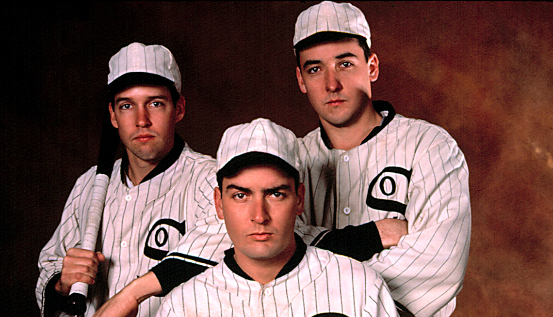 D B Sweeney Charlie Sheen and John Cusack star in the film Eight Men Out