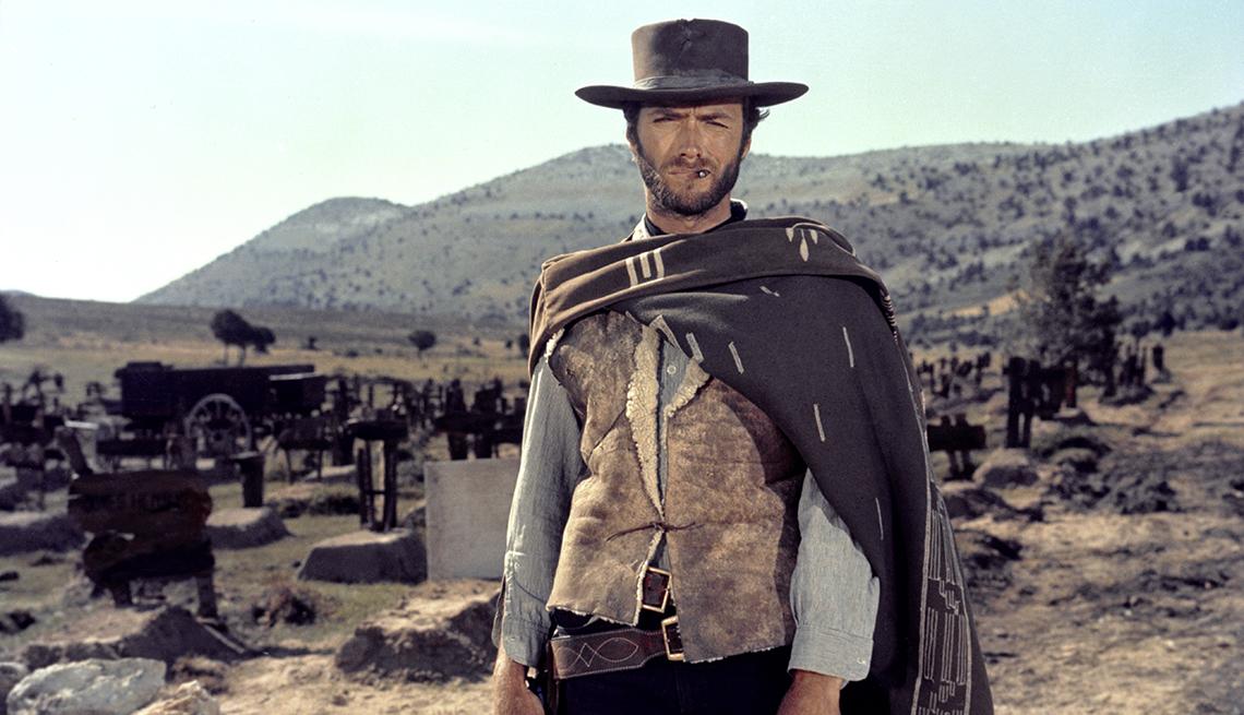 Clint Eastwood en una escena de The Good The Bad and The Ugly
