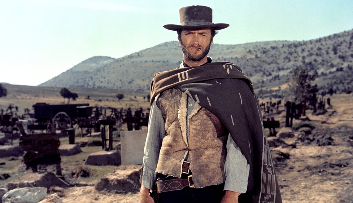 Clint Eastwood en una escena de The Good The Bad and The Ugly