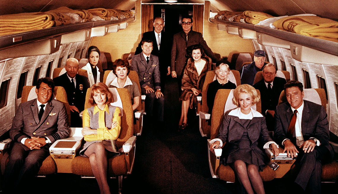 Foto del elenco de la película Airplane