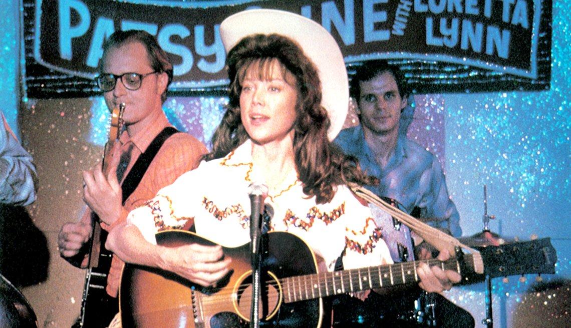 Sissy Spacek stars as Loretta Lynn in Coal Miners Daughter