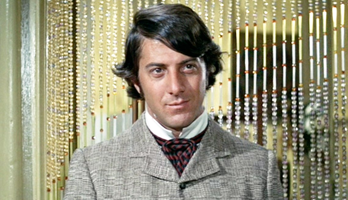 Dustin Hoffman in the film Little Big Man