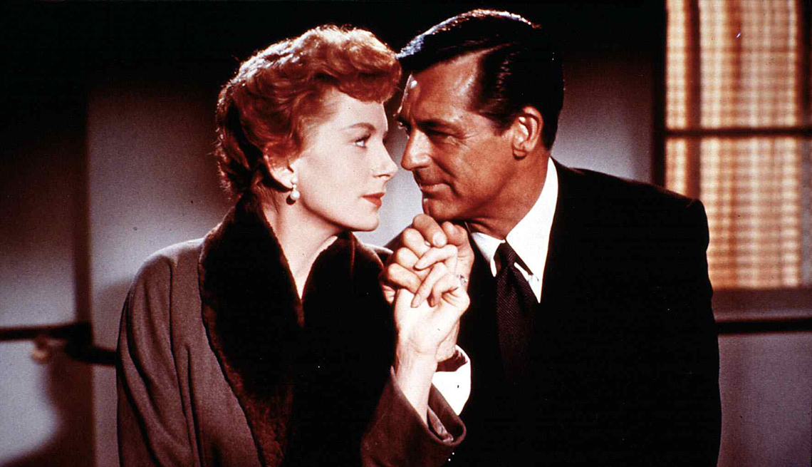 Deborah Kerr and Cary Grant in the film An Affair to Remember