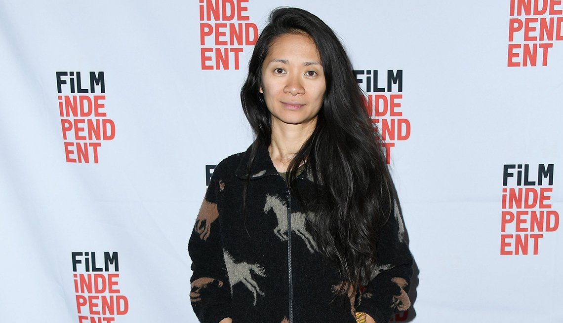 Chloe Zhao attends the Los Angeles Special Industry Screening of The Rider
