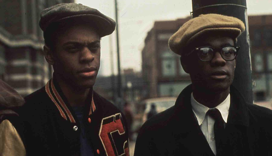 Lawrence-Hilton Jacobs and Glynn Turman star in the film Cooley High
