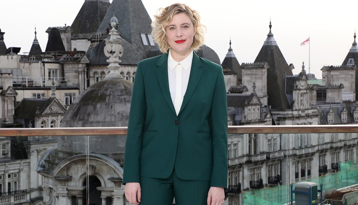 Greta Gerwig at the Little Women photocall in London