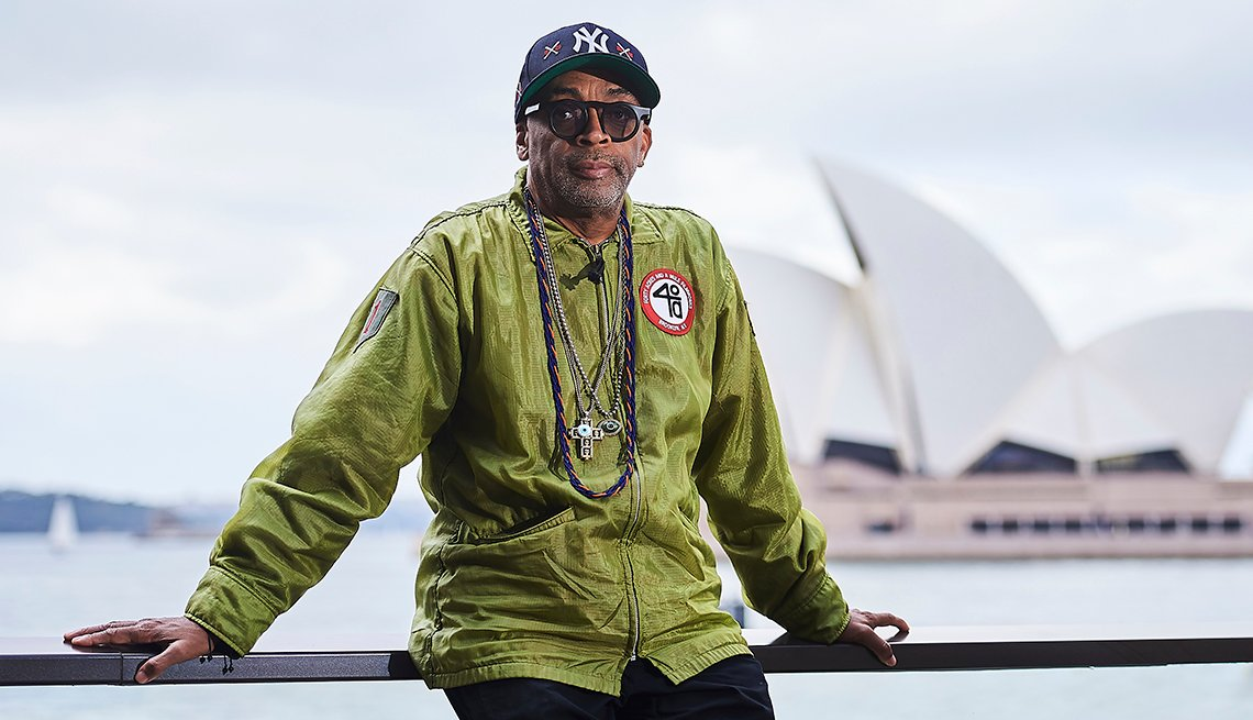 Director Spike Lee poses for photo in Sydney Australia