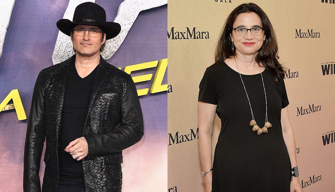 Directors Robert Rodriguez and Patricia Cardoso