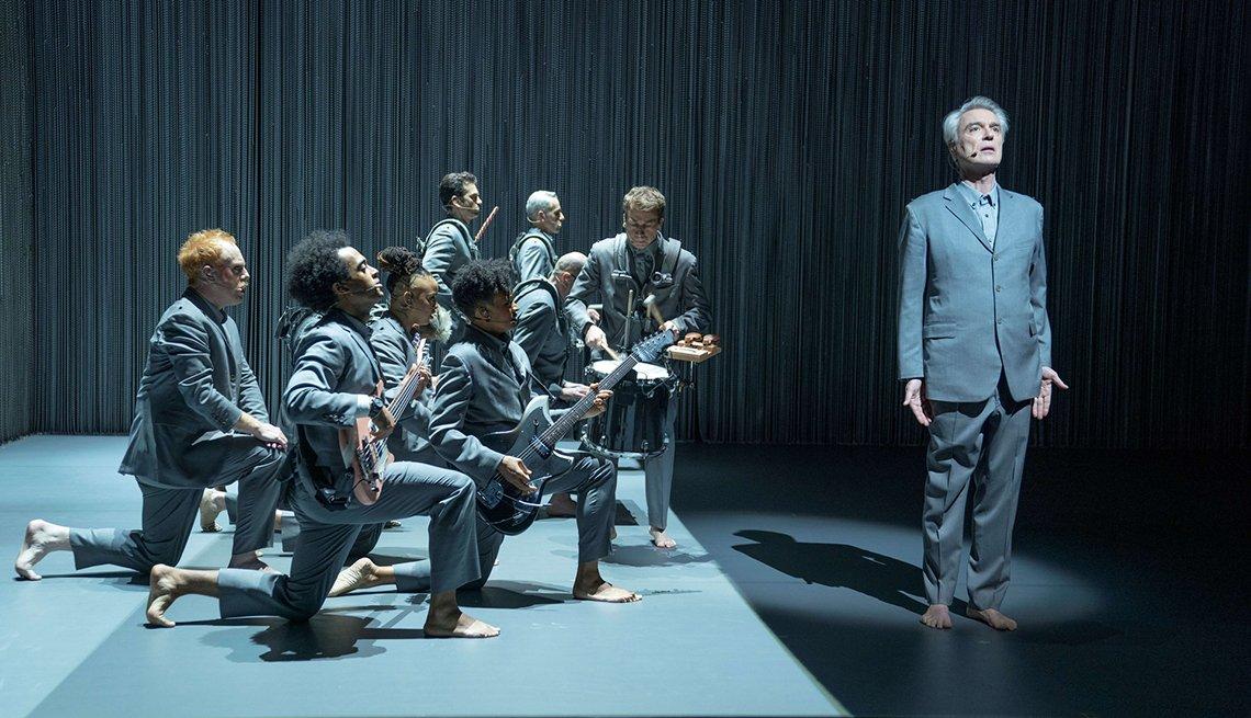 """Una escena de """"David Byrne's American Utopia."""""""