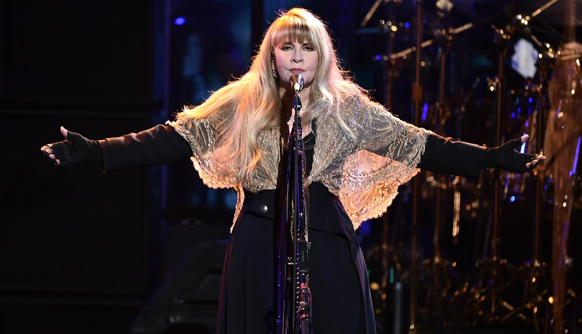 Stevie Nicks performs onstage during MusiCares Person of the Year honoring Fleetwood Mac at Radio City Music Hall