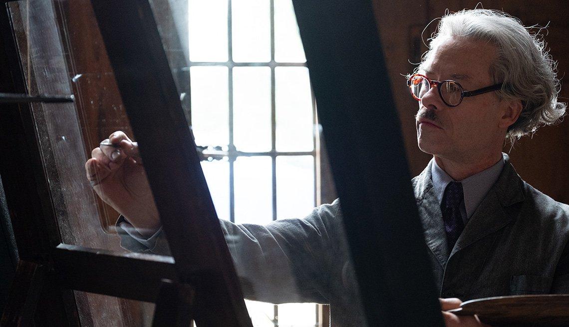 Guy Pearce stars as Han Van Meegeren in the film The Last Vermeer