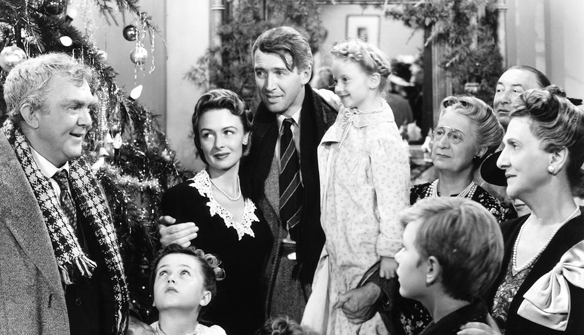 James Stewart stars in the film It's a Wonderful Life