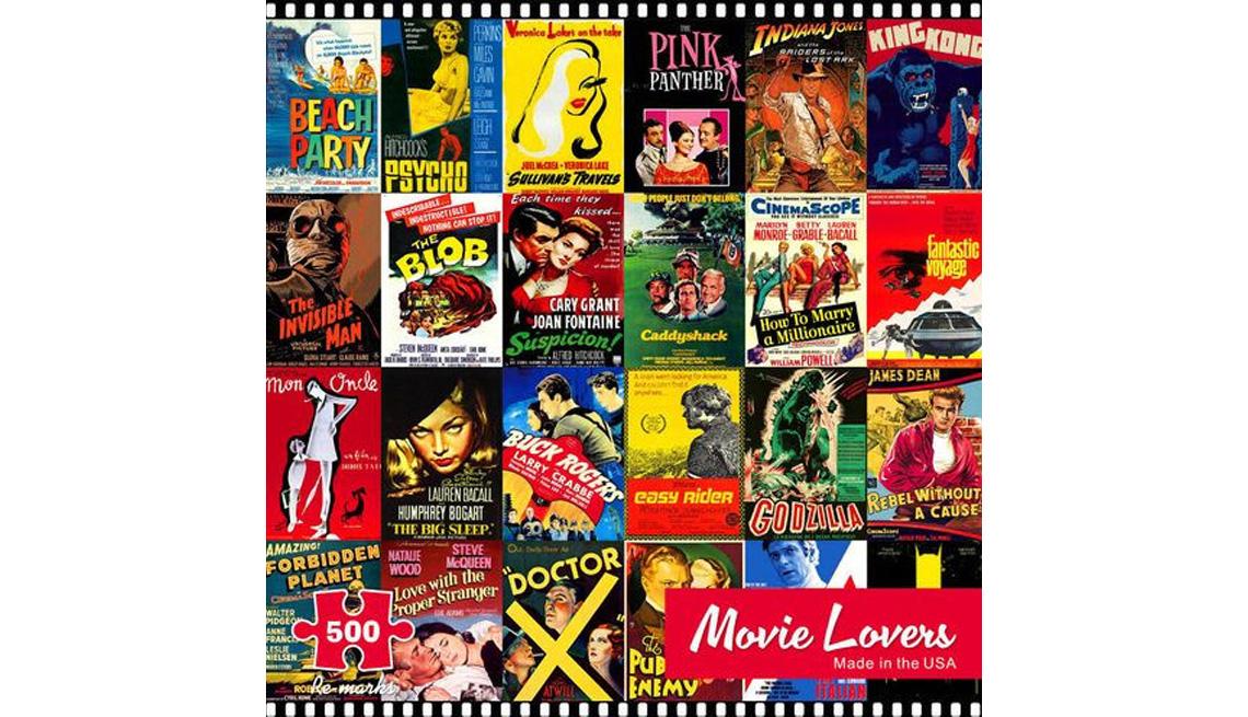 Movie Lovers 500-piece puzzle set