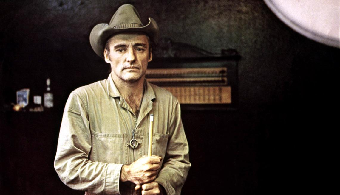 """Dennis Hopper en su rol como Tom Ripley en el filme """"The American Friend."""""""