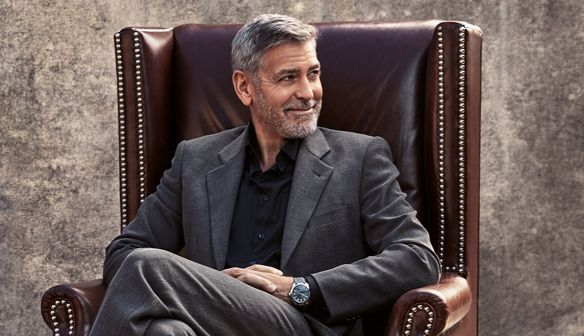 Actor, director y activista George Clooney.