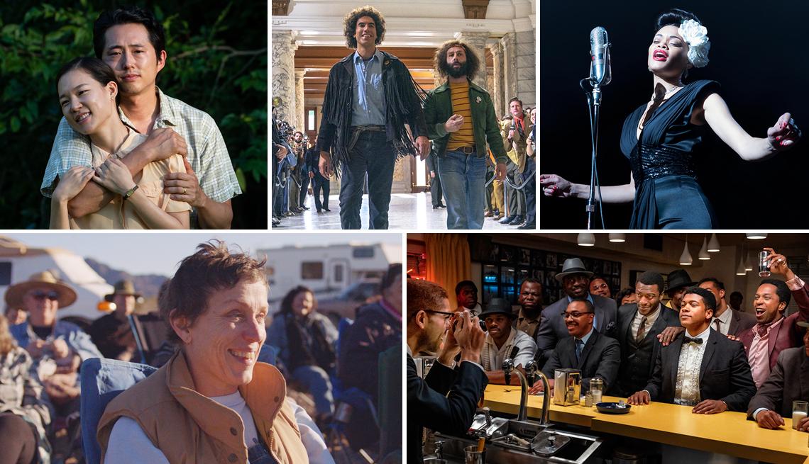 Escenas de los filmes nominados a los premios 2020 Movies for Grownups.