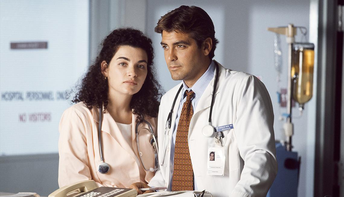 item 1 of Gallery image - George Clooney en la serie ER.