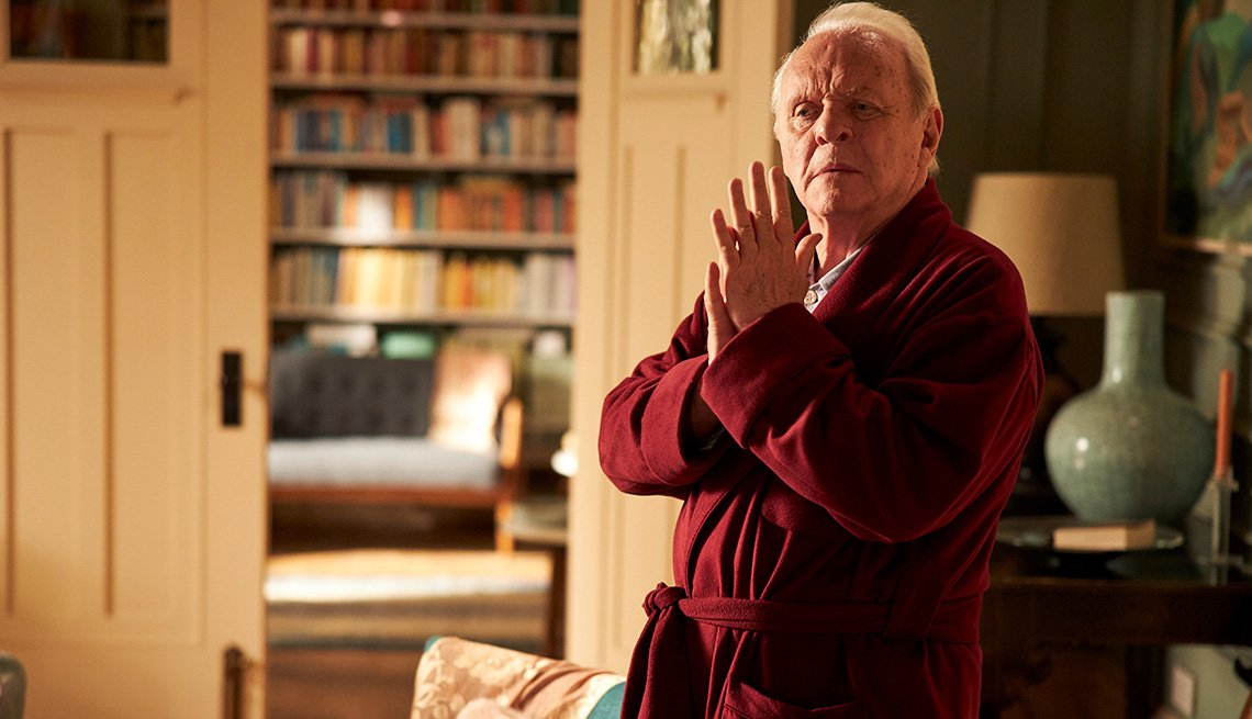 Anthony Hopkins stars in the film The Father