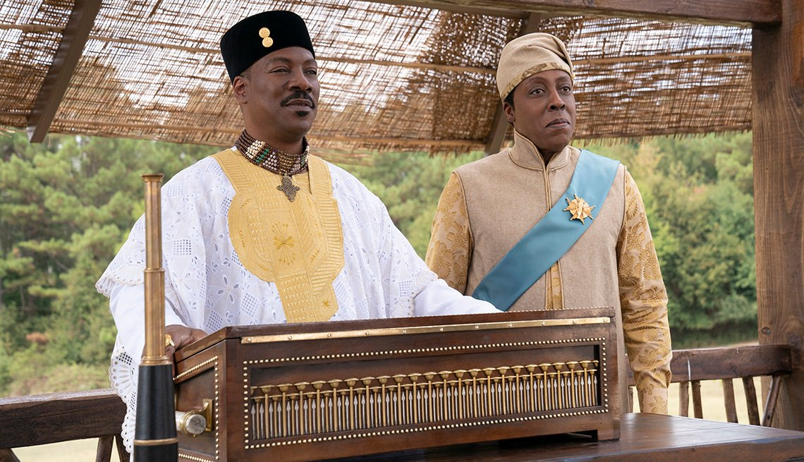 Eddie Murphy and Arsenio Hall star in Coming 2 America