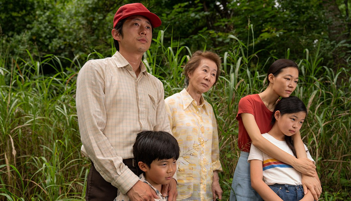 """item 11 of Gallery image - Steven Yeun, Alan S. Kim, Yuh-Jung Youn, Yeri Han y Noel Cho de la película """"Minari"""""""