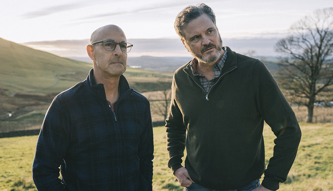 item 14 of Gallery image - Stanley Tucci and Colin Firth star in the film Supernova