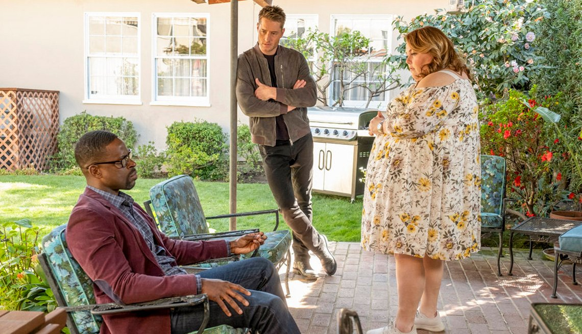 item 19 of Gallery image - Sterling K. Brown, Justin Hartley and Chrissy Metz on the show This Is Us