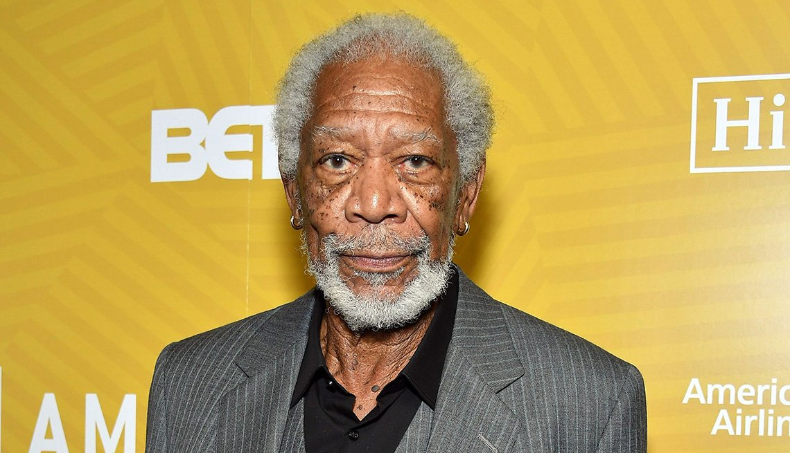 El actor Morgan Freeman.