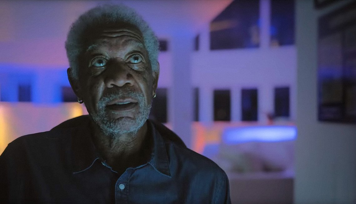 Morgan Freeman stars in the film Vanquish