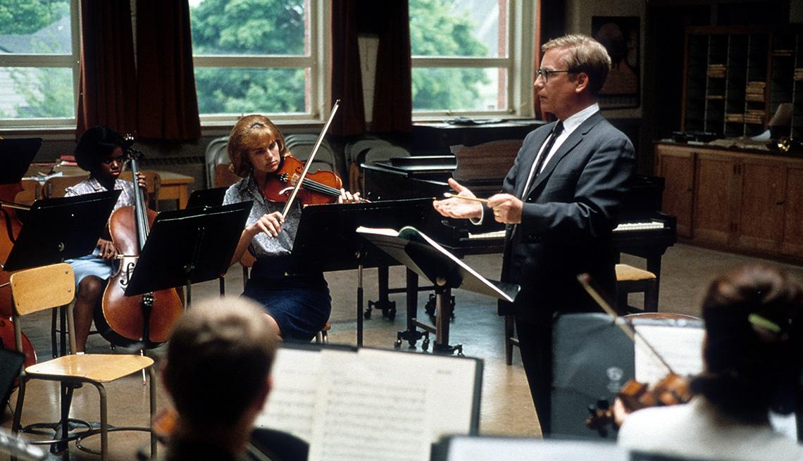"Richard Dreyfuss protagoniza la película ""Mr. Holland's Opus""."