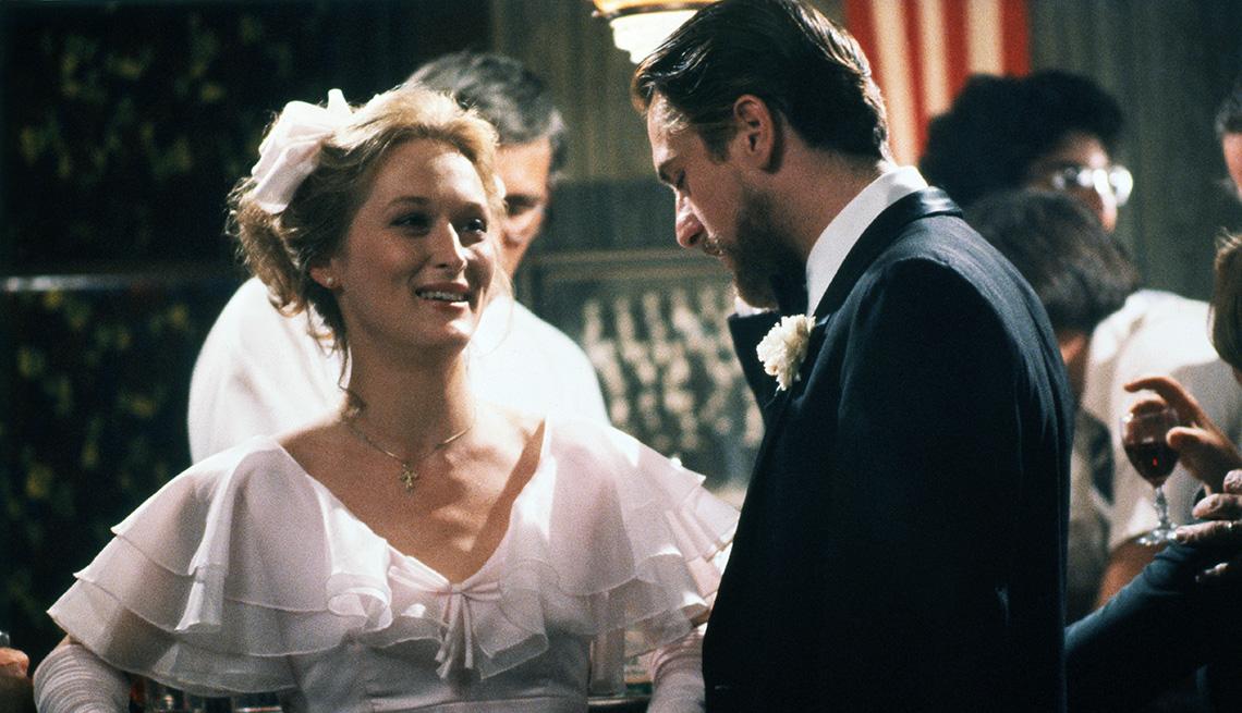 Meryl Streep and Robert De Niro star in the film The Deer Hunter