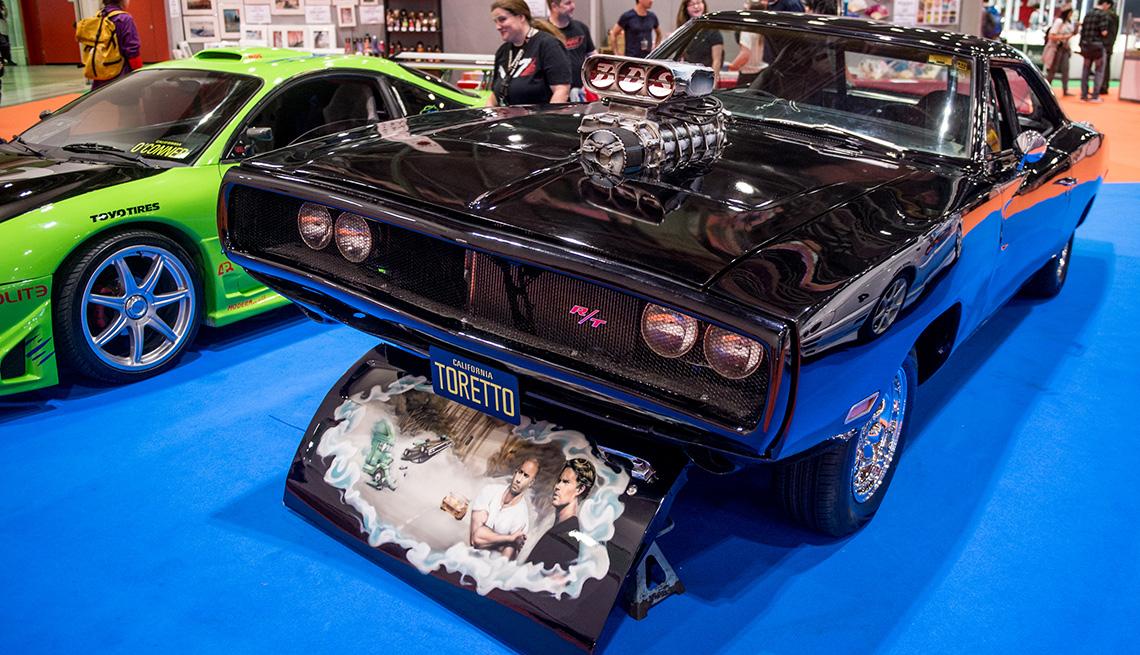 El Dodge Charger R / T usado por Vin Diesel como el auto característico de su personaje Dominic Toretto en Fast and The Furious.