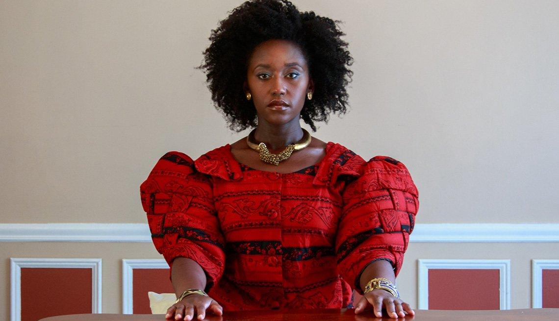 Nana Mensah stars in the film Queen of Glory