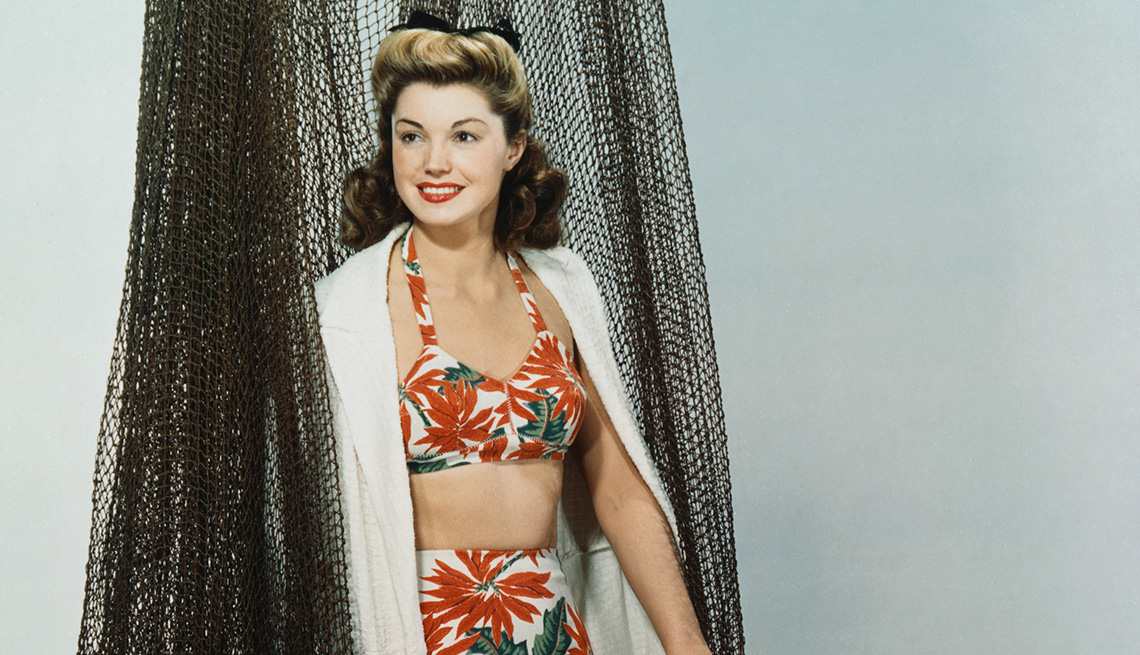 Former competitive swimmer and actress Esther Williams