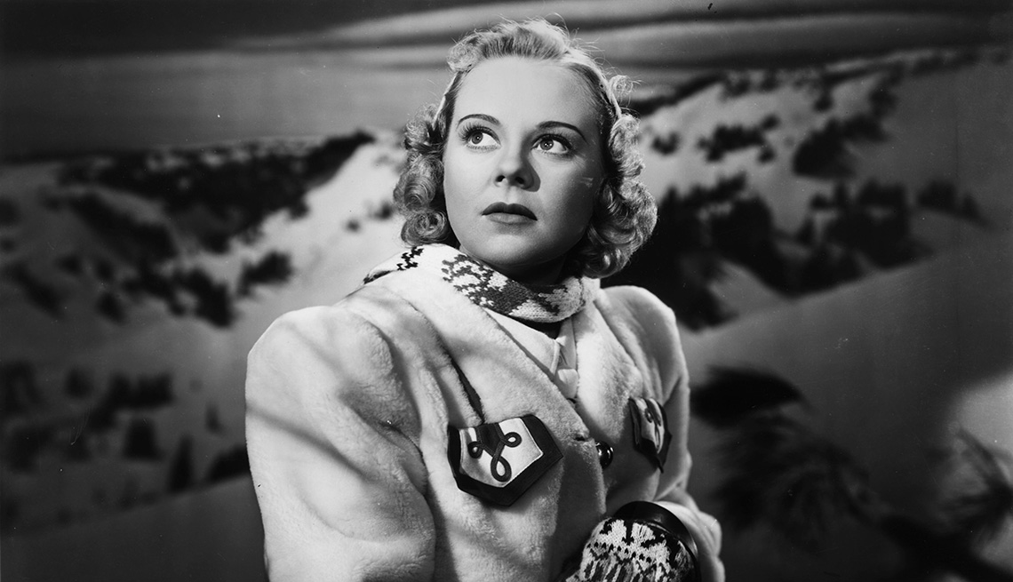 Sonja Henie stars in the film Everything Happens at Night