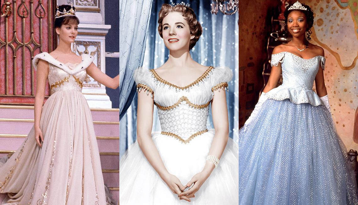 (De izquierda a derecha) Lesley Ann Warren, Julie Andrews y Brandy Norwood.