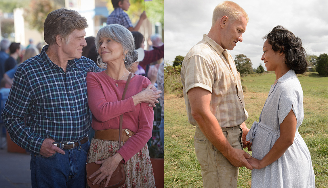 Robert Redford and Jane Fonda star in the film Our Souls at Night and Joel Edgerton and Ruth Negga star in the film Loving