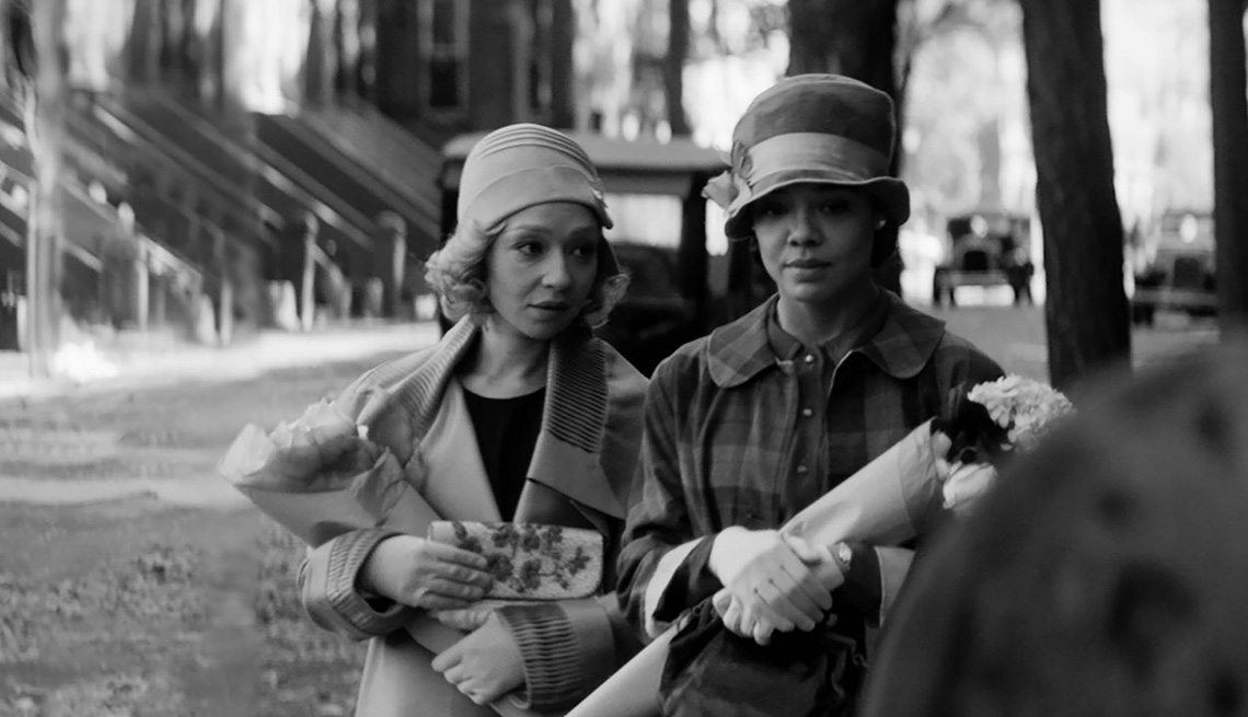 Ruth Negga and Tessa Thompson star in the film Passing