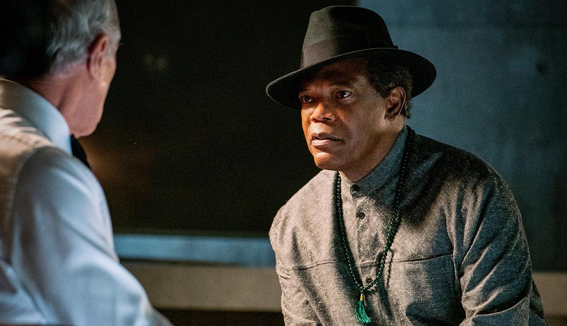 Samuel L Jackson stars in the film The Protege