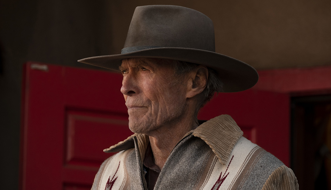Clint Eastwood stars in the film Cry Macho