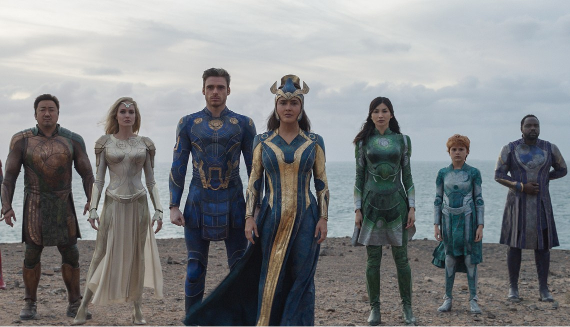item 10 of Gallery image - A wide shot of the cast of Eternals