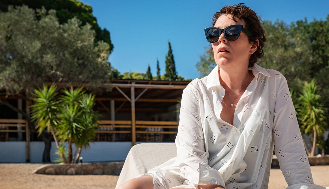 Olivia Colman stars in the film The Lost Daughter