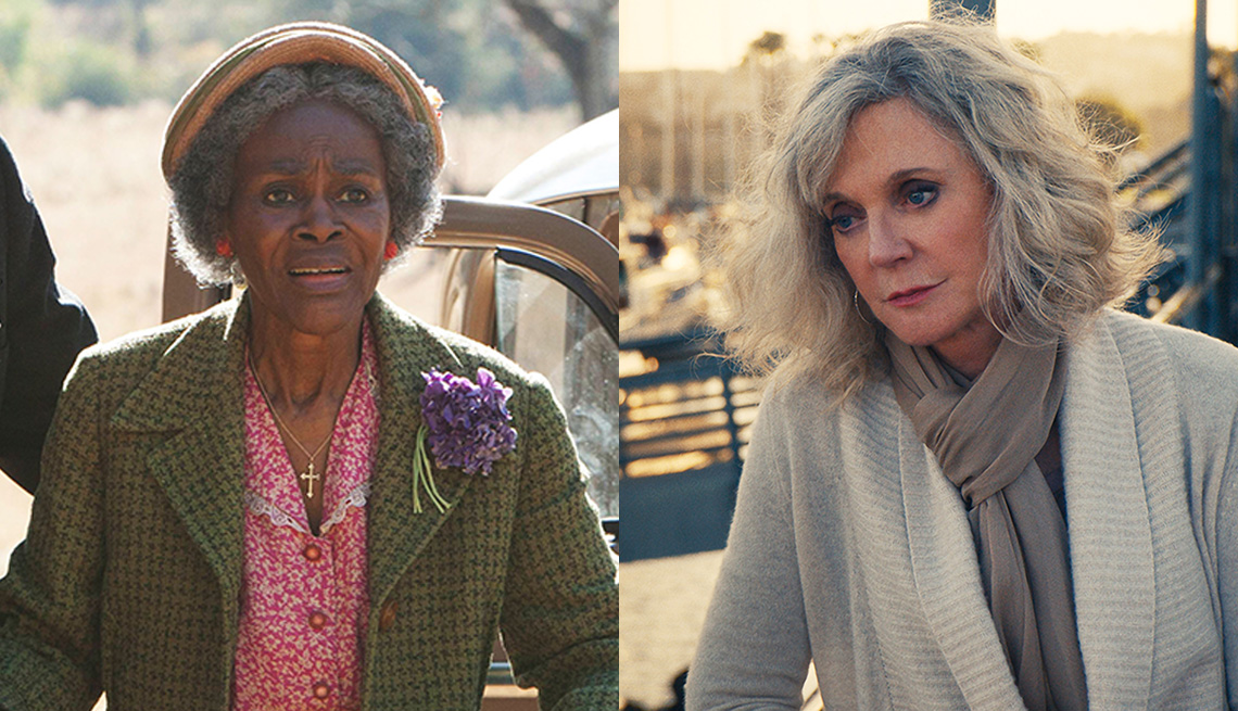Cicely Tyson and Blythe Danner