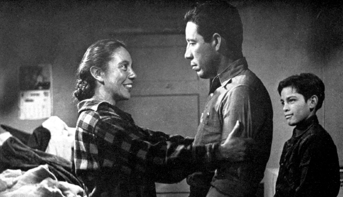 scene from the film salt of the earth