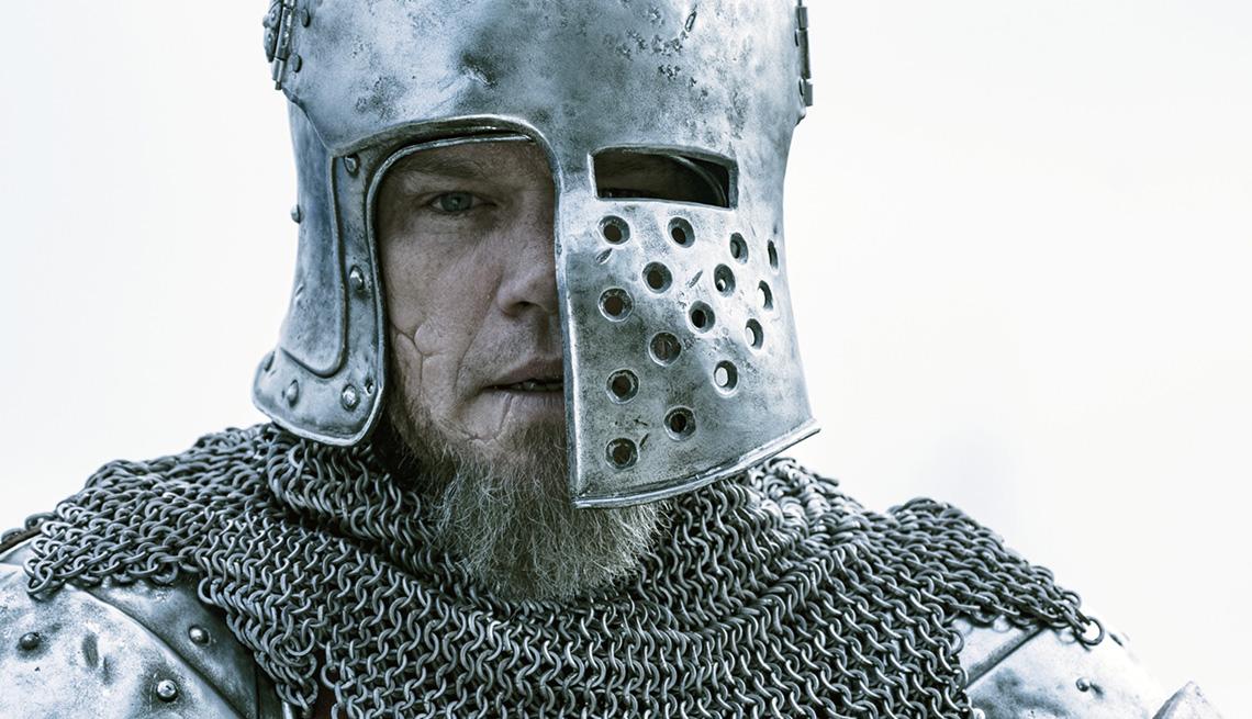 Matt Damon stars in the film The Last Duel