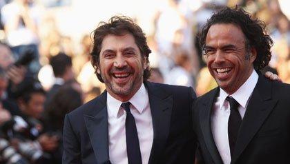 Javier Bardem y Alejandro Gonzalez Inarritu