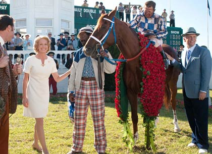 Secretariat with Diane Lane, Nelsan Ellis, Otto Thorwarth, John Malkovich, 2010.