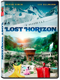 Empaque en DVD de Lost Horizon