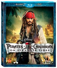 Empaque en DVD de Pirates of the Caribbean - On Stranger Tides