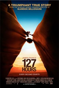 True story inspired movie 127 Hours poster